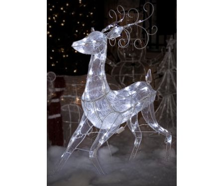 Ice Sculpture Reindeer