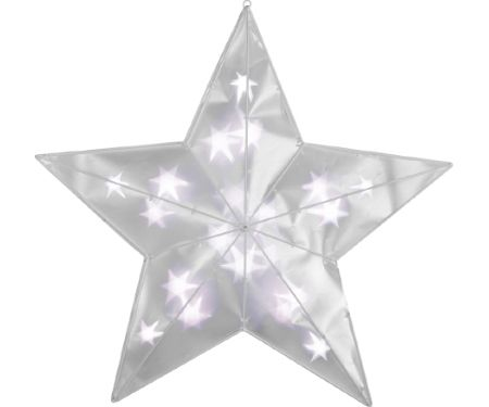 2ft Star of Light Prismagic Star Clear LED