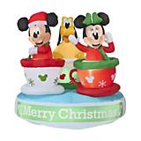5ft Airblown Mickey and Friends Teacup
