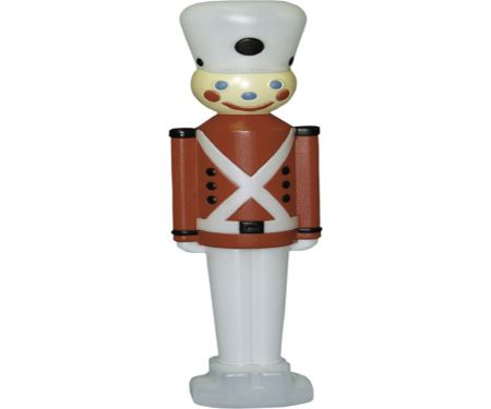 32in Toy Soldier with White Hat