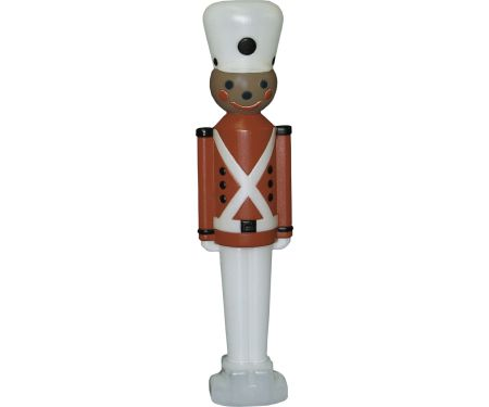 32in African American Toy Soldier with White Hat