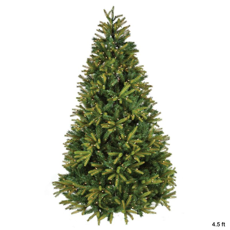 Artificial Clear Lit PE Christmas Tree 7.5ft