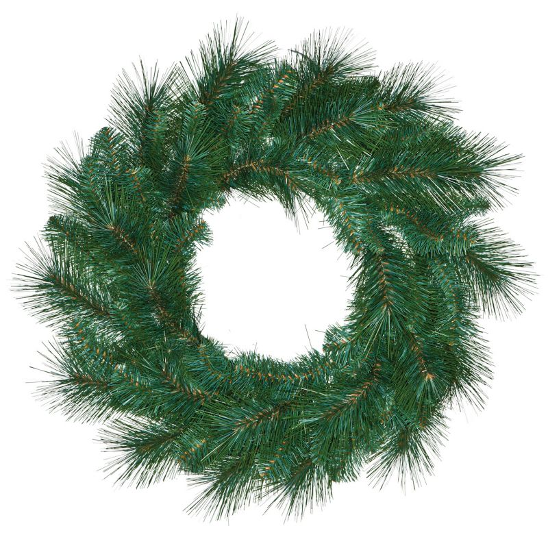Artificial 24in Pine Wreath