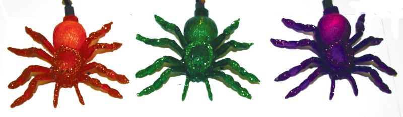 Halloween Spider Light Set