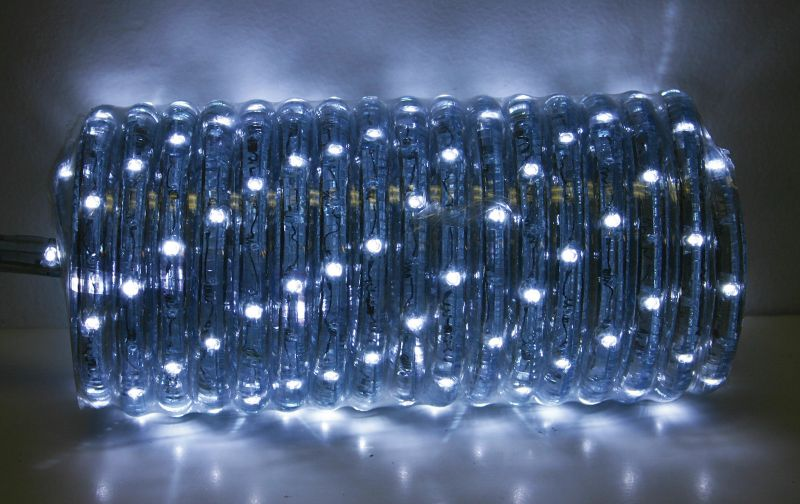 18ft LED Rope Light Set Warm White