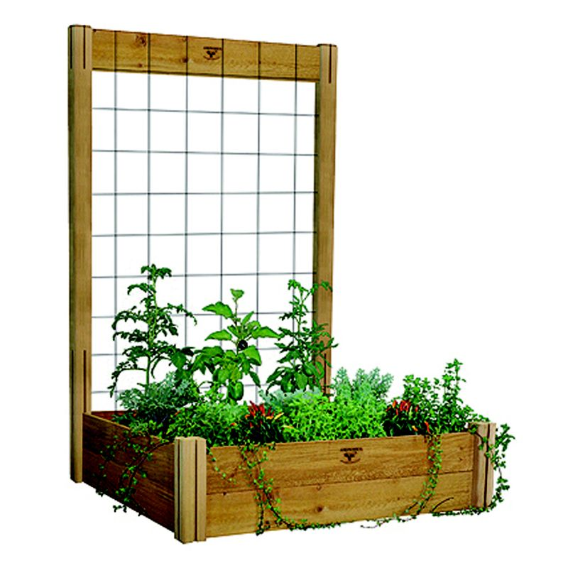 Modular Raised Garden Bed Trellis Kit