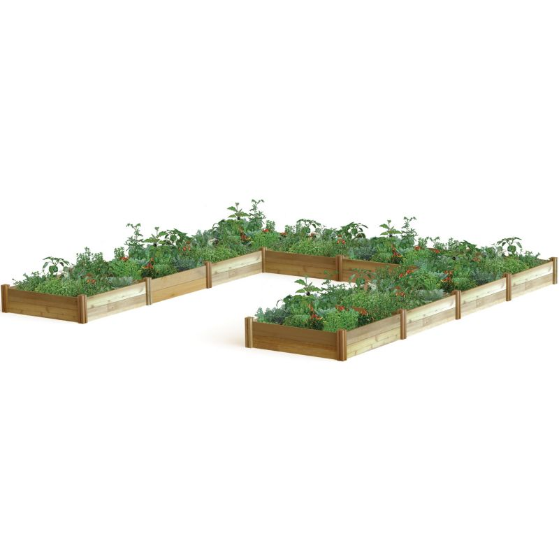 Harvester Raised Garden Bed U Shaped