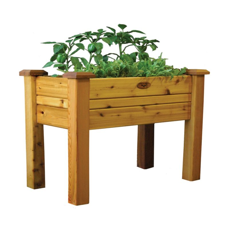 Elevated Garden Bed 24x48x30 Safe Finish