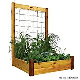 Raised Garden Bed w/Trellis