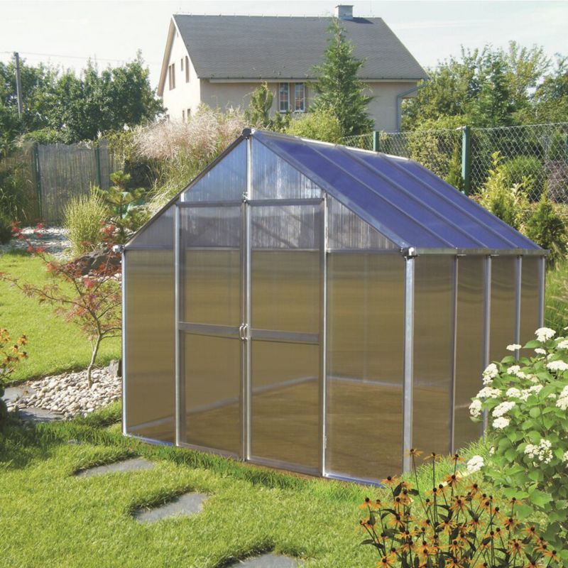 Monticello Premium Kit Greenhouse 12FT Black