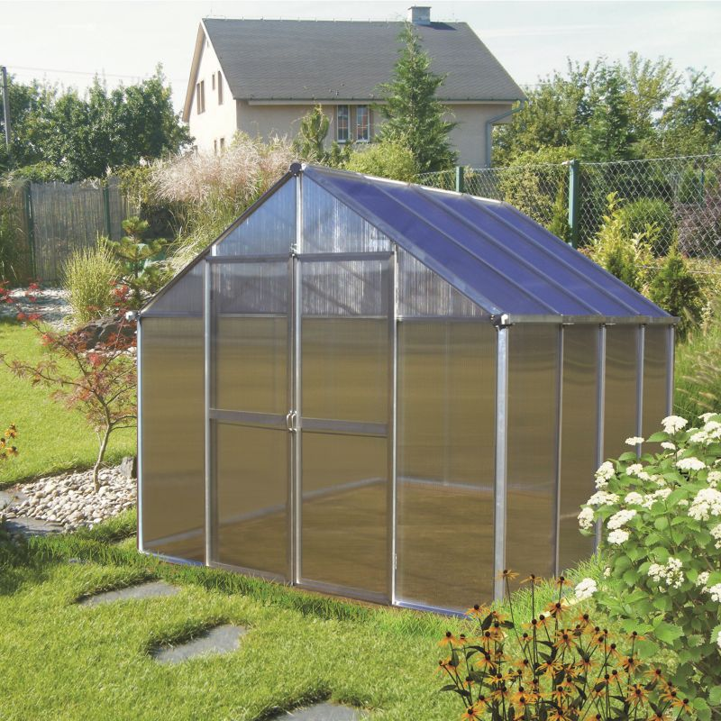Monticello Greenhouse 24ft Black
