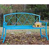 Living Color Bench Blue jay