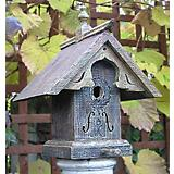 Heart & Eagle Baroque Birdhouse
