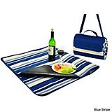 Fleece Blanket Picnic Tote