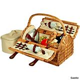 Sussex Wicker Picnic Basket for Two