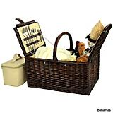 Buckingham Wicker Picnic Basket