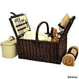 Buckingham Picnic Basket w/Blanket