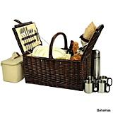 Buckingham Picnic Basket with Coffee