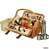 Sussex Picnic Basket for Two with Coffee