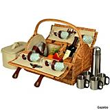 Yorkshire Picnic Basket with Coffee
