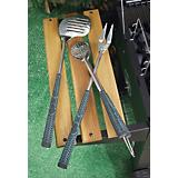 Golf Club 3PC BBQ Tool Set