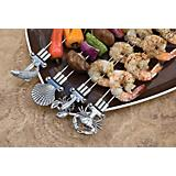 Double Prong Coastal Skewers / Set 4