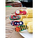 Corn Holders - Flip Flops / 4 Sets