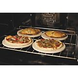 8in Round Mini Pizza Stones Set of 4