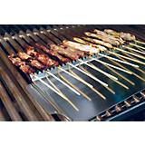 Stainless Grill Shield for Skewers