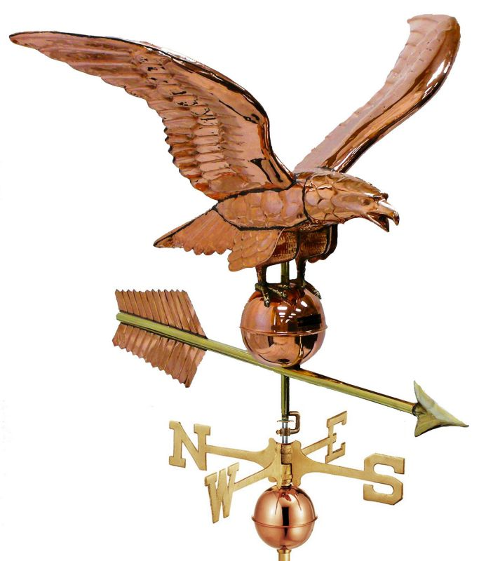 34 Smithsonian Copper Eagle Estate Weathervane
