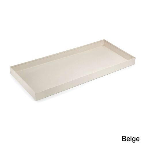 34in Steel Boot Tray Beige