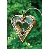 Heart Fly-Thru Bird Feeder