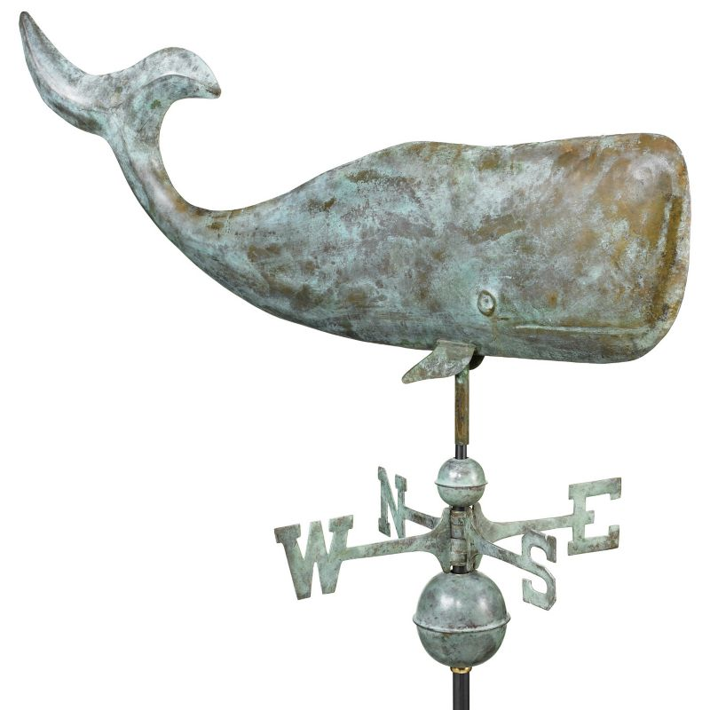 37in Whale Weathervane