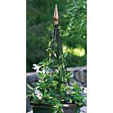 Polished Copper Finial Obelisk