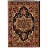 Everest Antique Sarouk Black Rug