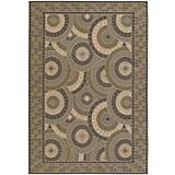 Five Seasons Sundial Cream-Green Rug