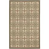 Five Seasons Delray Crm-Corl Red Rug