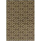 Dolce Piccolo Brown-Gold Rug