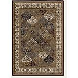 Everest Mosaic Panel Crimson Rug