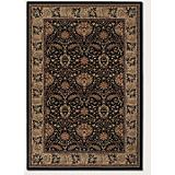 Everest Herati Palm Midnight Rug