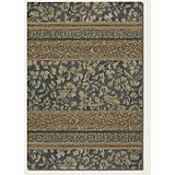 Easton Francesca Denim-Gold Rug
