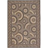 Five Seasons Sundial Cream-Brown Rug