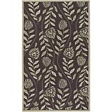Rain Dark Brown Sage Rug