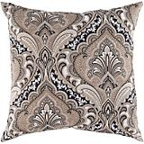 Black Olive Safari Tan Pillow