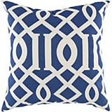 Blue Corn Papyrus Pillow