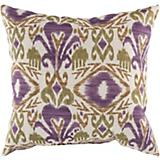 Avocado Prune Purple Pillow