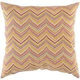Maroon Golden Ochre Pillow