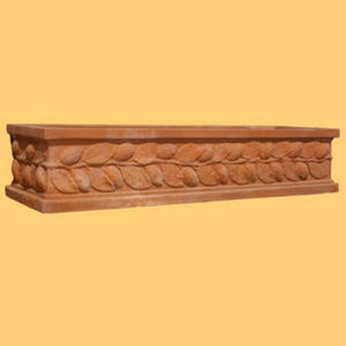 Cassetta Limoni Clay Pot 48In x 16In x 10In