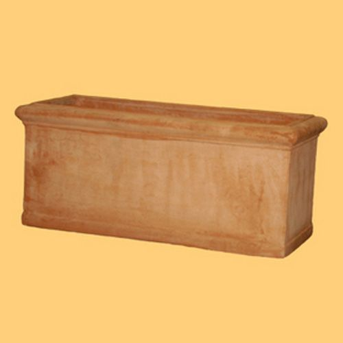 Cassetta Liscia Clay Pot 11In x 24In x 9In H