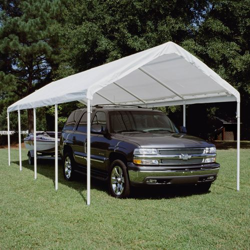 Hercules Canopy Powder Coated Frame 10Ft x 27Ft
